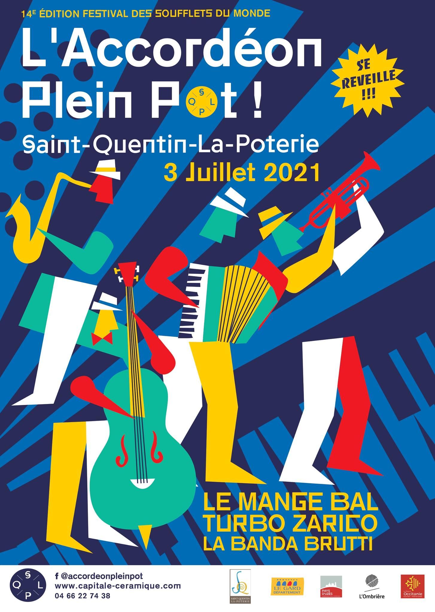 Festival l'Accordéon Plein Pot !